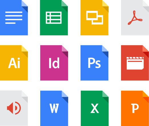 Google Drive Software File Types