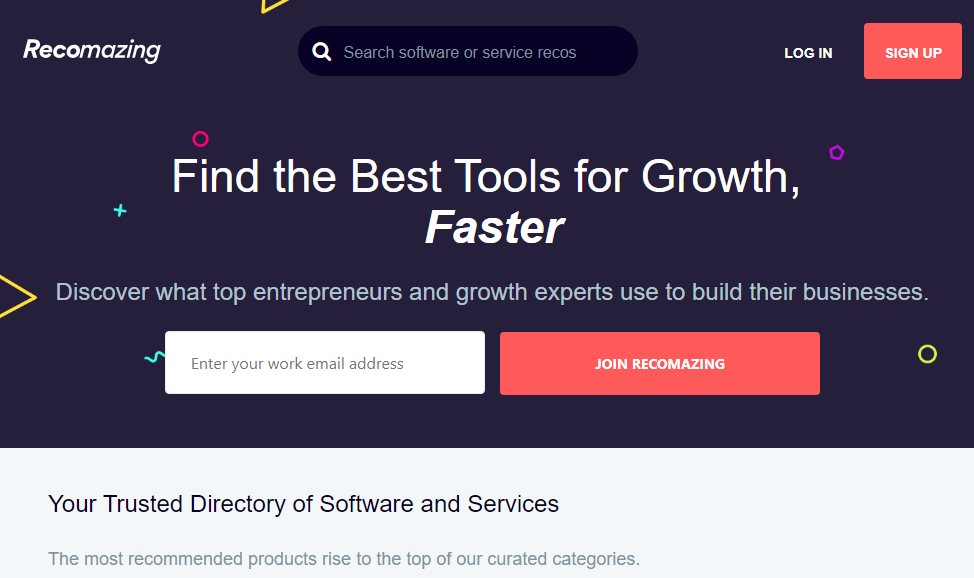 Recomazing - Software for digital businesses