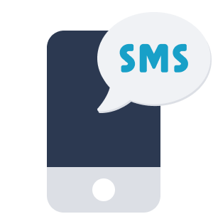 ShiftCare sms or email messaging