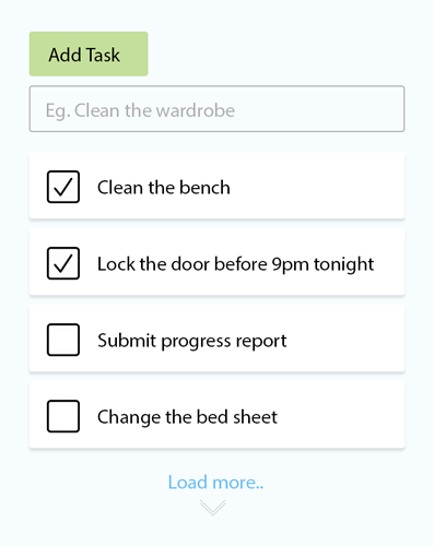 ShiftCare Task Management Screenshot